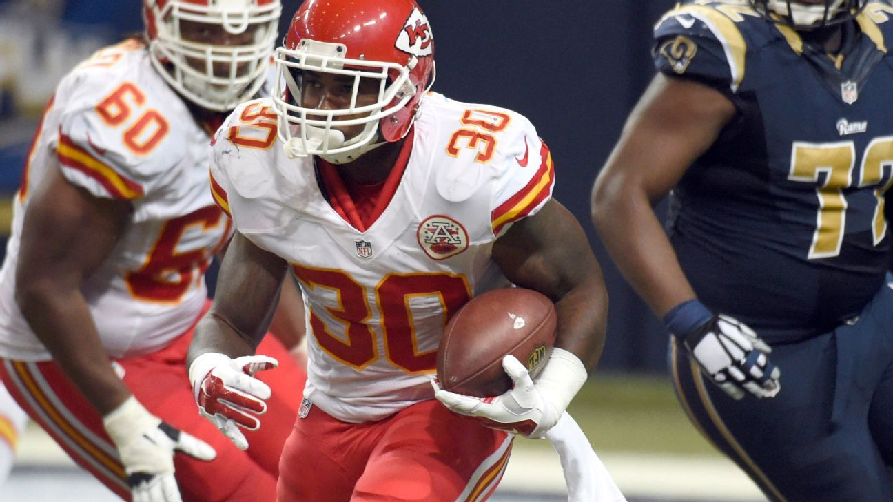 spencer ware fantasy football waiver wire pickup week 12