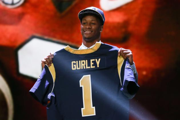 todd gurley rookie nfl 2015