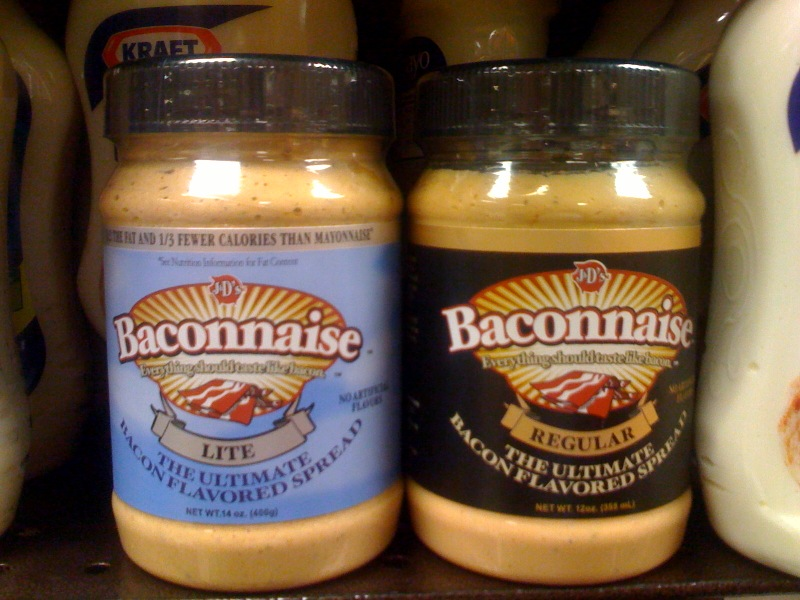 baconnaise doesnt have bacon in it