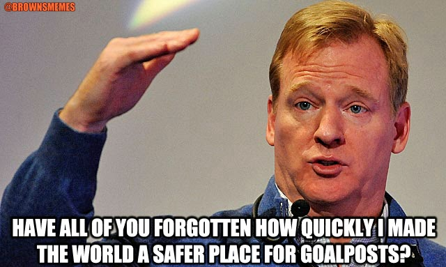 Goodell excuse
