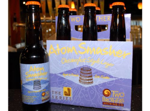 Beer Review: Atom Smasher by Two Brothers Brewing Co.