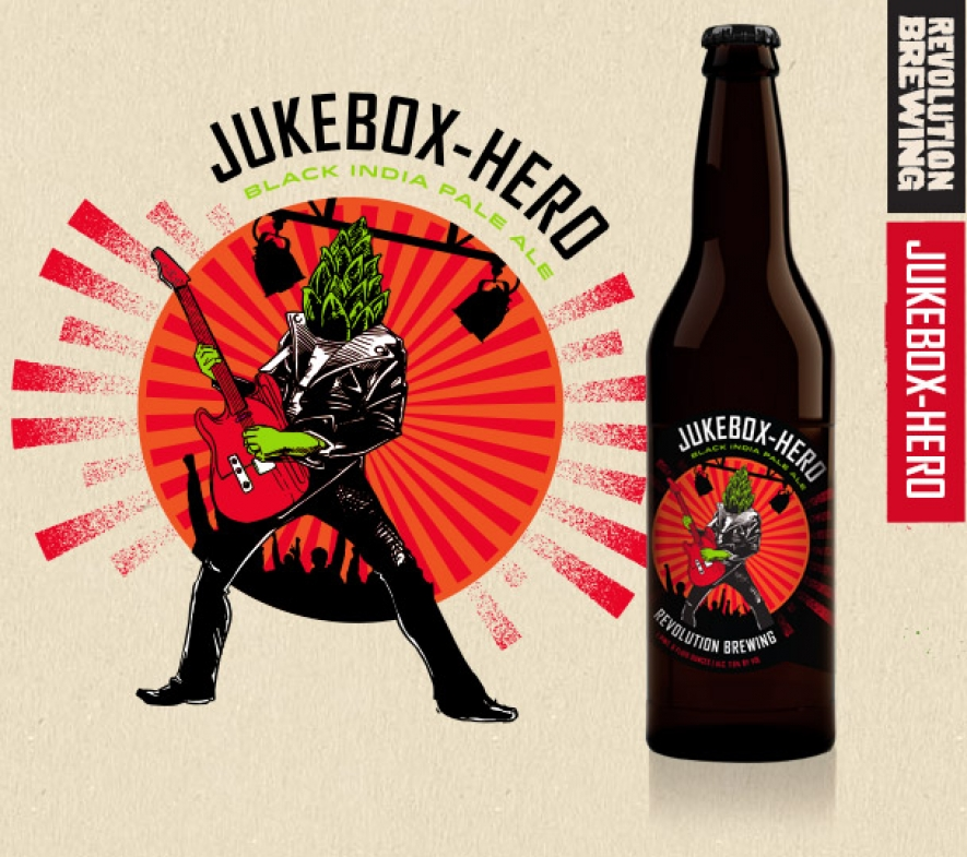 Beer Review: Revolution Brewing: JuKebox Hero Black India Pale Ale